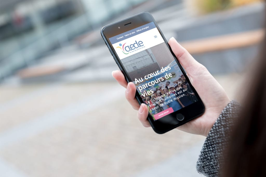 AEDE | SITE MOBILE FIRST